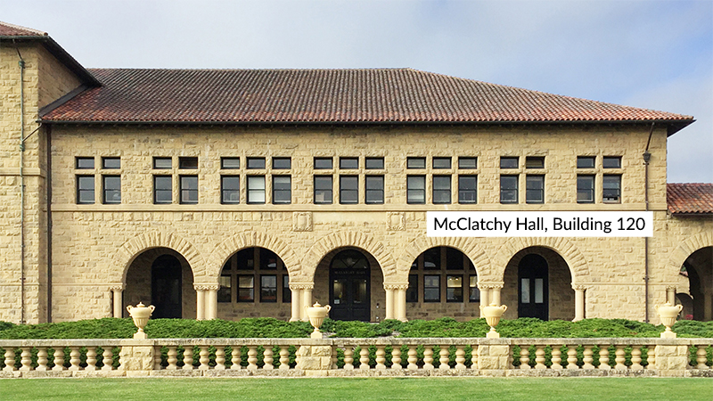 McClatchy Hall, Building 120