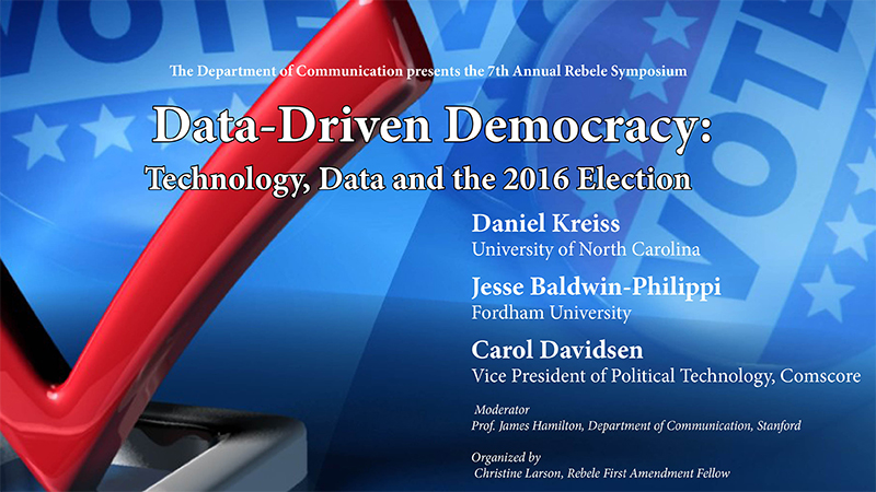Data Driven Democracy