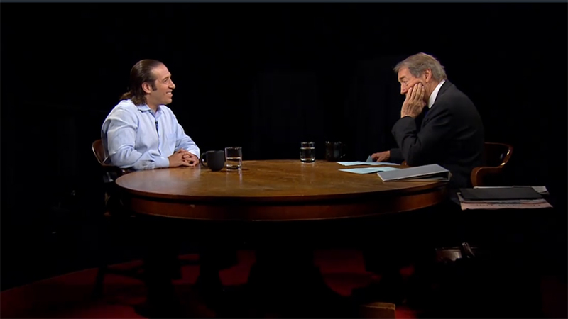 Jeremy Bailenson and Charlie Rose